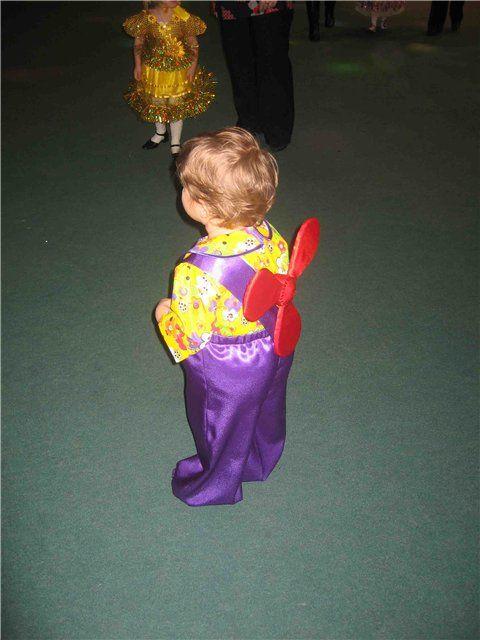 Карлсон новогодний костюм своими руками
