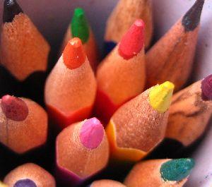 стихотворение коробка с карандашами:
