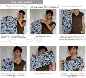 Слинг-карман Инструкция - фото 2